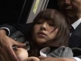 Startling busty floozy Momo Ogura eagerly sucking off