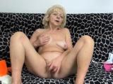 Grandma Loves Masturbation Play