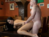 Big ass and tits brunette anal first time Can you trust