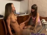 Lesbian foot bitch xxx Horny girly-girl teenagers