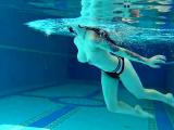 Sheril Blossom hot Russian underwater