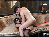 Big booty babe loves getting fucked anal