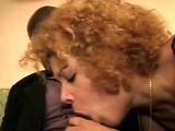 Horny black guy banging brunette milf