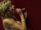 Big tit Lady Sonia visits a gloryhole