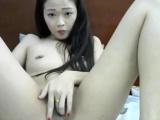 Cute Asian Teen Fingering Herself