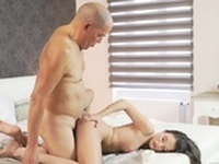Mature cleaning Her Wet Dream
