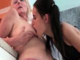 Blonde mature lesbian gets her cunt part4