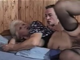 Hairy granny snatch firm fucked