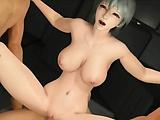 Foursome 3D sex
