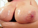 Asian slut blows big dick