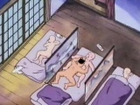 Naked anime nun having sex for the first time