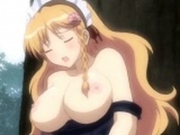Busty anime gets cunt licked and screwed