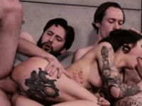 Luna enjoys getting fucked by her stepbro and Owen