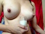 glass of milk??