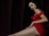 Hot amateur brunette teasing in exclusive erotic video