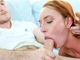Delicious redhead bimbo enjoys a worthy sex