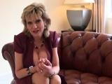 Unfaithful british mature gill ellis showcases her big titti