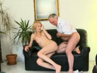 Sinful russian perfection finds a big slim jim