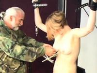 Ravishing minx Adora rubs her tight wet tang