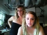 Amateur blonde European immature fucking boyfriend on webcam