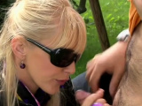 Heavenly girlfriend gets licked and gives head