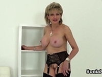 Unfaithful british mature lady sonia exposes her enor15lIy