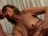 chubby hairy mature scores young cock