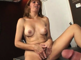 Experienced lady plays with a pecker