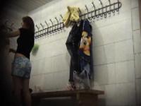 Locker voyeur hidden cam