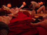 Blonde hottie gets her delicious big tits sucked and licked
