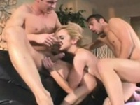 Cute blonde roughly fucked