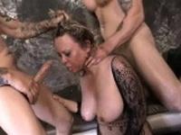 Chubby MILF Mallory Taylor Drools On Dicks