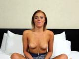 Pungent blonde damsel Jessie Law gets the pecker