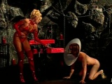 Mistresses punish their slaves in a compilation