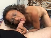 Zella from dates25com - Sexy mature milf candy gives a blo