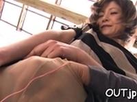 Prurient floosy Ai Komori gets fucked hard