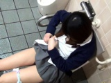 Watched asian urinates