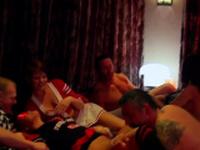 Hot swinger group is having a wild orgy