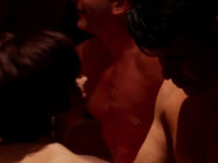 Married young couple fucks in their first swinger experience