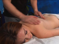 Dazzling redhead gal gets hard core treatment