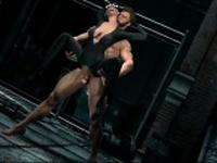 Woiverine Loves Catwoman - Best 3D hentai porn world