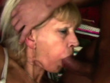 Old babe banged by horny young dude