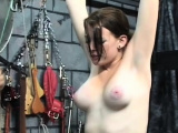 Young chick endures harsh treatment on her cum-hole and tits