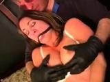 Incredible BDSM les for blonde MILF
