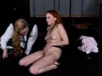 Dirty Marys lesbian bondage and electro bdsm