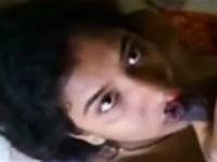Shy mallu girl gives blowjob