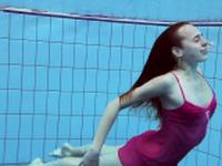 Anna Netrebko softcore swimming