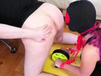 Blonde teen s licking xxx Ass-Slave Yoga