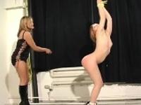Seeing 2 ravishing gals making out - fantasies come true