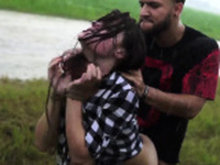 Cheerleader bondage Helpless teen Kaisey Dean was on her